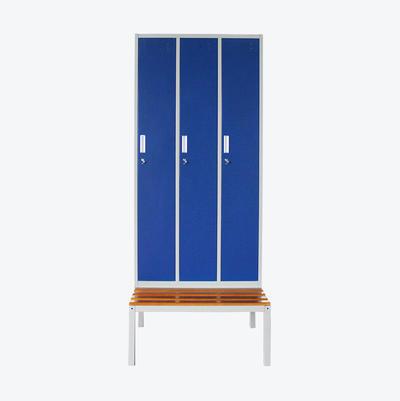 metal locker cabinet Gym Furniture Full Height Almirah Design 3 Door
