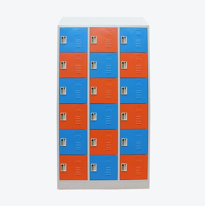 school locker Slanted Top 18doorsdressing room storage cabinets