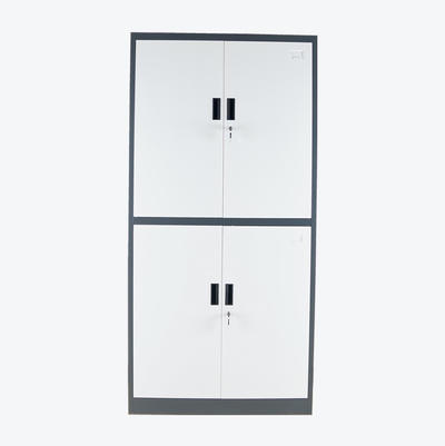 locking file cabinet Metal Office Furniture Strong Welded Swing 4 Door