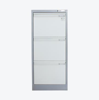 Steel 3 Drawer Vertical File Cabinet Fireproof Office Equipment Document Organizer